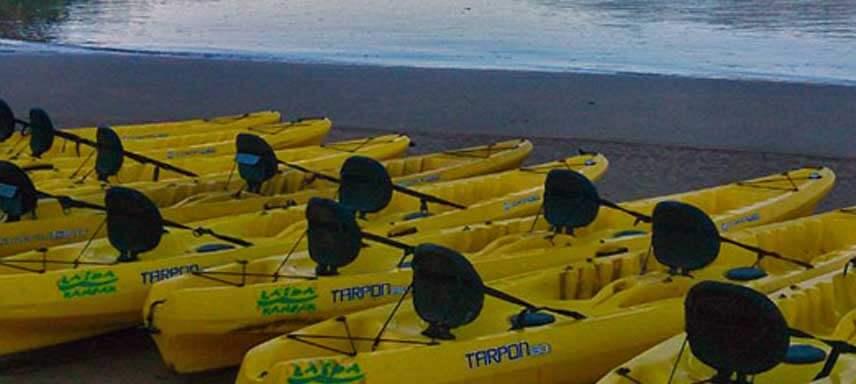 Alquiler de canoas o descensos guiados en canoa desde Playa de Laida